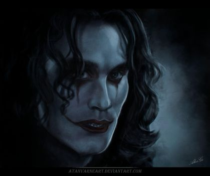 The Crow. by AtanvarneArt