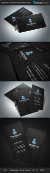 Business Solutions Business Cards by Rafael-Olivra