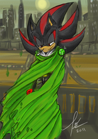 Cloaked Shadow - Colored by kittygomou