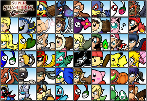 Super Smash Bro: Brawl by cazzyx3