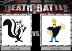 Pepe Le Pew vs. Johnny Bravo by JasonPictures