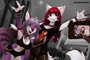 MetalHead girls by Zengel