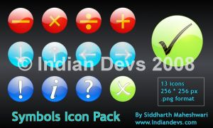 Symbols Icon Pack Launched by SiddharthMaheshwari