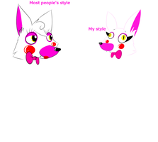 Different Mangle styles by 88angelfox