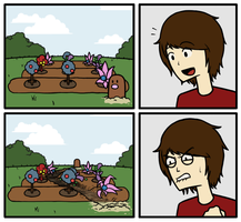 Diglett Showed Up by Immer
