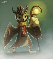 2.7 Exalted Owl (1hr + 5 Minutes) Penalty by Cryptid-Creations