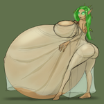 Ylia the Dryad (Colored Sketch) by RiddleAellinea