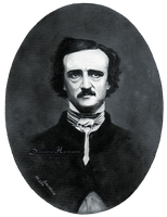 Edgar Allan Poe by dh6art
