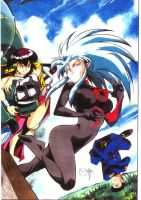 Tenchi Muyo Cover by CD007