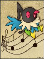 Chatot Singing by Kureculari