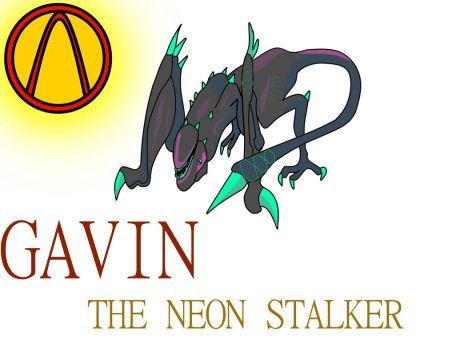 Gavin the neon stalker Oc *fixed* by foxgamer383