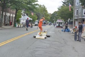 Summer Days Street Fair, Skateboarders 4 by Miss-Tbones