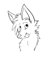 - Just Some Line Art - by TheSadLonelyFox