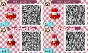 Perona QR code for Animal Crossing: New leaf by TeenBulma