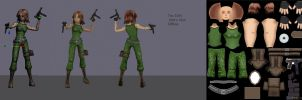 Female Soldier by Thirteen-th