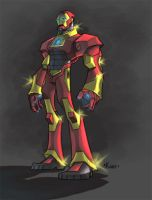 Iron man color by Kane79