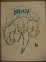 Balrog fanart by r4nd0mpunk