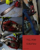 Evil Dead Chainsaw Prop by Police-Box-Traveler