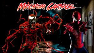 Spider-Man and Venom Maximum Carnage Poster #2 by ProfessorAdagio