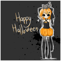 happy halloween by linkitty