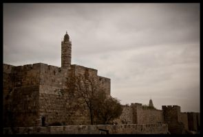 Jerusalem - Outside walls by echomrg