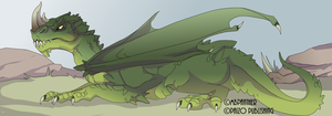 Green Dragon UPDATE by MBPanther
