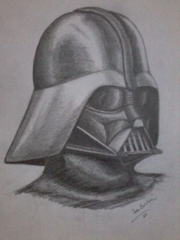Darth Vader's helmet by Denisaiko
