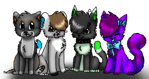 Group Picturee by Bleu-Foxx