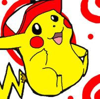 Pikachu _'MY HAT'_ by Umbra-Flower