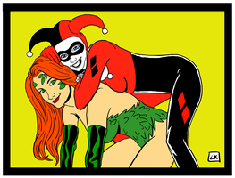 Harley and Ivy by EarthmanPrime
