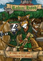 Robin Hood comic frontcover by MikeOrion