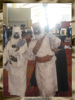 Tusken Raider ConnectiCon 2007 by Fallensbane