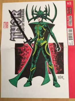 Hela Thor Ragnarok SOLD by GordZee