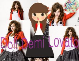 Doll Demi Lovato by belubelll