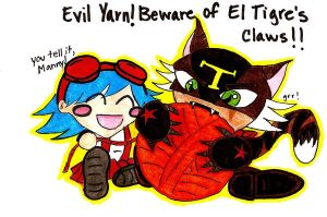 Beware of El Tigre's Claws by InuKa-RR-Hijinkessou