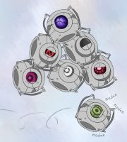 Pile of Cores by Pyreo