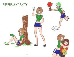 PeanutsHigh Peppermintpatty by 1amm1