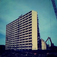 Cabrini Green Demolition by jonniedee