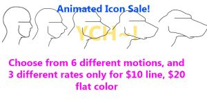 Transformation Icon Animated Icon Sale by Lucern7