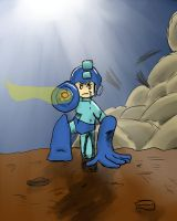 Megaman Tribute extra by GM-Wolf