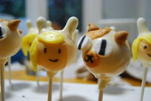 Fiona and Cake Pops 1 by meglish
