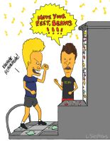 Postcard 10 - Beavis Butthead by lauraneato1