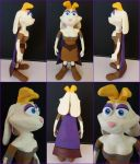Bianca the Rabbit sculpture! by frozendragonflames