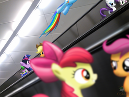 Conversations On The Escalator by OJhat