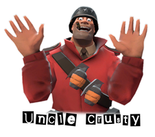 Uncle Crusty Icon by SagaHanson25