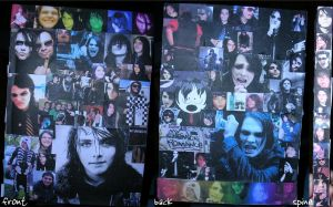 Gerard Way Notebook by fe-chan