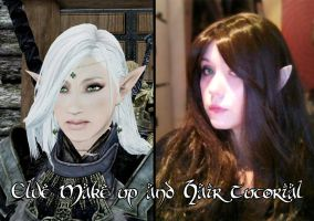 Elve Make up and Hair Tutorial now on Youtube by Sayuri-Shinichi