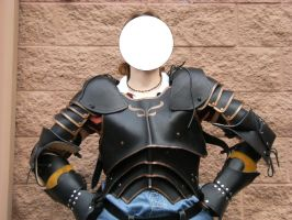More pics of the leather armor by Brashsculptor