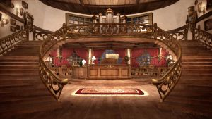 Interior - Captain's Office by soulfinder90