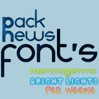 Pack 3 Fonts by KillerChesse
